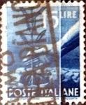 sellos de Europa - Italia -  Intercambio 0,20 usd 15 liras 1946