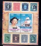 Sellos de America - Chile -  Cristóbal Colón y carabelas