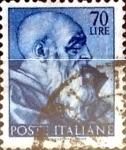 Sellos de Europa - Italia -  Intercambio 0,20 usd 70 liras 1961