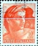 Sellos de Europa - Italia -  Intercambio 0,20 usd 10 liras 1961