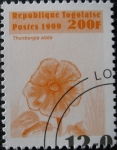Stamps Africa - Togo -  Thumbergia alata