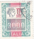 Stamps Italy -  emblema