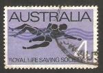 Sellos de Oceania - Australia -  343 - 75 anivº de la sociedad real de voluntarios de salvamento marino