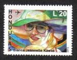 Sellos de America - Honduras -  Blanca Jeannette Kawas