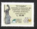 Sellos de America - Honduras -  El Forjador