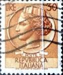 Sellos del Mundo : Europa : Italia : Intercambio 0,20 usd 30 liras 1960