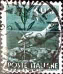 sellos de Europa - Italia -  Intercambio 0,20 usd 1 liras 1945