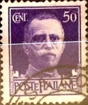 Stamps : Europe : Italy :  Intercambio 0,20 usd 50 cents. 1929