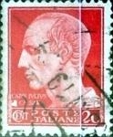 Sellos de Europa - Italia -  Intercambio 0,20 usd 20 cents. 1945