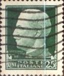 Sellos de Europa - Italia -  Intercambio 0,20 usd 25 cents. 1929