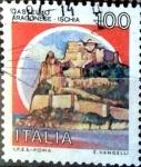 Stamps Italy -  Intercambio 0,20 usd 100 liras 1980