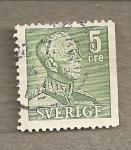 Stamps Europe - Sweden -  Rey Gustavo Adolfo