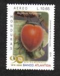 Stamps Honduras -  90 Aniversario Banco Atlántida