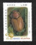 Sellos de America - Honduras -  90 Aniversario Banco Atlántida