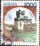 Sellos de Europa - Italia -  Intercambio 0,20 usd 1000 liras 1980