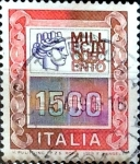 Stamps : Europe : Italy :  Intercambio 0,20 usd 1500 liras 1979