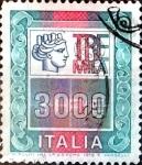 Sellos del Mundo : Europa : Italia : Intercambio 0,20 usd 3000 liras 1979