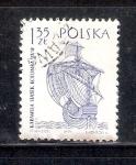 Sellos de Europa - Polonia -  Carabela de Cristóbal Colón , Siglo XV