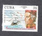 Sellos de America - Cuba -  Américo Vespucio, 1454-1512