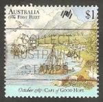 Sellos de Oceania - Australia -  1028 - Cabo de Buena Esperanza, Naves