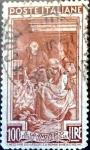 Sellos de Europa - Italia -  Intercambio cr2f 0,20 usd 100 liras 1950