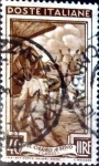 Stamps : Europe : Italy :  40 liras 1950