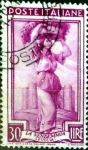 Stamps : Europe : Italy :  Intercambio jcpf 0,20 usd 30 liras 1950