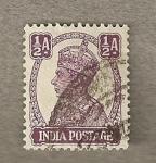 Sellos de Asia - India -  Rey Jorge VI