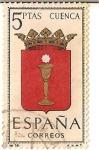 Stamps Spain -  Correos España / Cuenca / 5 pecetas