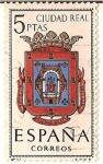 Stamps Spain -  Correos España / Ciudad real / 5 pecetas
