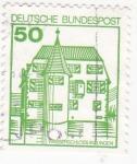 Sellos de Europa - Alemania -  wasserschloss inzlingen