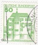 Stamps Germany -  wasserschloss inzlingen
