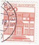 Sellos de Europa - Alemania -  schloss herrenhausen- Hannover