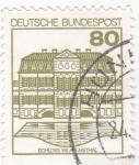 Stamps Germany -  schloss wilhelmsthal