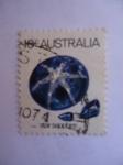 Sellos de Oceania - Australia -  Star sapphire. Zafiro.