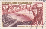 Sellos de Europa - Francia -  Barrage de Vouglans Jura