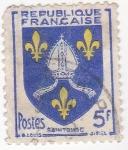 Sellos del Mundo : Europa : Francia :  escudo de Saim Tomge