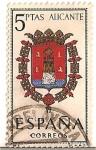 Stamps Spain -  Correos España / Alicante / 5 pecetas