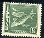 Sellos de Europa - Islandia -  varios