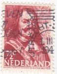 Stamps Netherlands -  Michael Adriaanszoon-1607-1676 almirante holandés