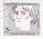 Stamps : Europe : Portugal :  Tristao Vaz Teixeira-navegantes portugueses