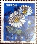 Sellos de Asia - Japón -  Intercambio 0,20 usd 15 yen 1966