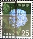 Sellos de Asia - Japón -  Intercambio 0,20 usd 25 yen 1966