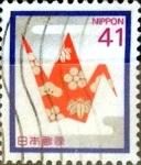 Stamps Japan -  Intercambio 0,35 usd 41 yen 1989