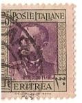 Stamps Africa - Eritrea -  poste Italiane / Eritrea / 20 cent.