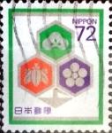 Stamps Japan -  Intercambio 0,50 usd 72 yen 1989