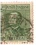 Stamps Africa - Eritrea -  Poste Italiane / Eritrea / 2,50 Lira / colonia italiana