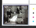 Sellos del Mundo : America : Bahamas : El Bautizo del Principe Jorge