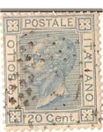 Stamps Europe - Italy -  Bollo / italiano postale / 20 cent / colonias italianas