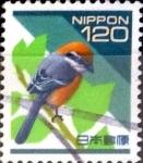 Sellos de Asia - Japón -  Intercambio aexa 1,40 usd 120 yen 1998